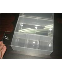 กล่องใส่กระดาษทิชชู่ สำหรับโต๊ะเครื่องแป้ง หรือโต๊ะวางเครื่องสำอาง