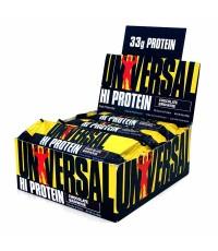 โปรตีนแท่ง : UNIVERSAL HI PROTEIN BAR CHOCOLATE PEANUT BUTTER 16bars