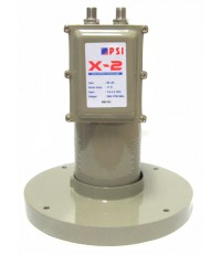 LNBF C-BAND PSI X2 (ใช้สำหรับรีซีฟเวอร์ 2 เครื่อง)