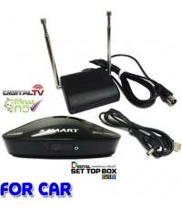 ชุดรับสัญญาณทีวีดิจิตอล SAMART+เสา+สาย USB DC (สำหรับรถยนต์)