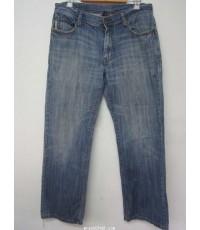 กางเกงยีนส์ Armani Exchange Jeans A/X (Made in HONG KONG)รอบเอว32นิ้วXขายาว40นิ้วxเป้า9นิ้ว