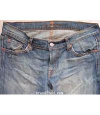 กางเกงยีนส์ 7 FOR ALL MANKIND Jeans (made in U.S.A)รอบเอว32นิ้วXขายาว38นิ้วxเป้า7นิ้ว