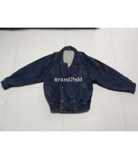 Jacket Jeans Trussardiไหล่กว้าง22นิ้วไหล่ถึงชายเสื้อ26นิ้วแขนยาว23นิ้วช่วงเอวกว้าง18นิ้ว