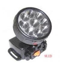ไฟฉายคาดหัว LED 8+1 ดวง 2 Step