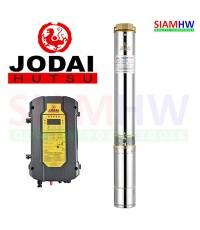 JODAI 4LSC10.5/45-96/750 ปั๊มน้ำบาดาล AC/DC (สวิทช์) 96V 750W (3-4แผง) 10.5Q บ่อ4 ออก2นิ้ว H.Max45m