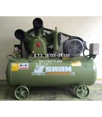 ปั๊มลม สวอน พร้อมมอเตอร์ รุ่น HWP-310/380V-237Lรุ่นแรงดันสูง