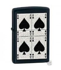 ไฟแช๊ก Zippo รุ่น  Aces of Spades Lighter, 6380