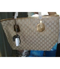 Gucci cruise jolie medium tote 211976 Gold Sand สีทอง