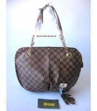 Louis Vuitton  Damier Handbag ลายสก๊อตหัวใจ