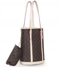 Louis Vuitton Monogram  Bucket 27 M42236