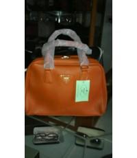 Prada Saffiano Vernice Framed Bag