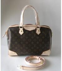 Louis Vuitton Monogram Retiro Bag PM M40325 เล็กหนังแท้ฟอกฝาด