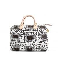 Louis Vuitton Yayoi Kusama Speedy 30 M40692 สีขาว หนังแท้