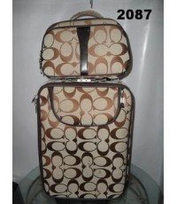 Coach suitcase luggage rolling travel bag  แม่ลูก
