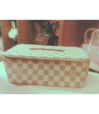 Louis Vuitton Damier Tissue Box