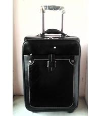 กระเป๋าเดินทาง Mont Blanc 4 ล้อรุ่นใหม่สีดำ 20 นิ้ว