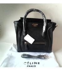 Celine luggage boston tote bag เล็กสีดำ