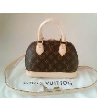 Louis Vuitton Monogram Alma BB Bag จิ๋ว