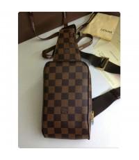 Louis Vuitton GERONIMOS Bag คาดเอว อก สก็อตน้ำตาล