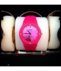 นาฬิกา Casio standard analog leather