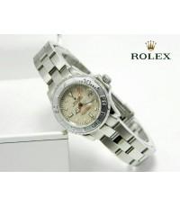 นาฬิกา Rolex YACHT-MASTER 29 MM. Steel and Platinum Mirror