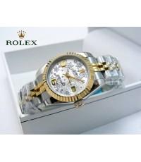 นาฬิกา Rolex Lady Datejust Jubilee Steel Yellow Gold 26 mm.