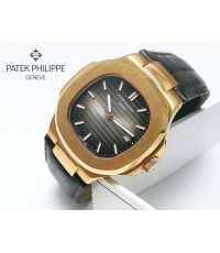 นาฬิกา Patek Philippe Nautilus Rose Gold RG 5711R 43 MM. Brown Dial BrownLeather