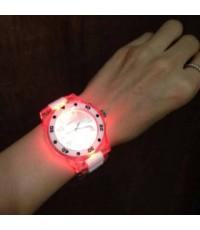 นาฬิกา แฟชั่นมีไฟ 7 สี