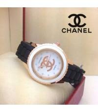 นาฬิกา Chanel  สายยางซิลิโคน
