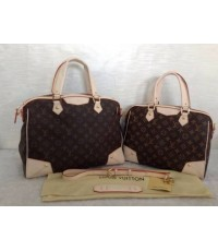 Louis Vuitton Monogram Retiro Bag M40324 หนังแท้ฟอกฝาด