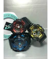 นาฬิกา Baby G Baby g สายดำหน้าสี By Casio