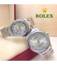 Rolex สายเงิน