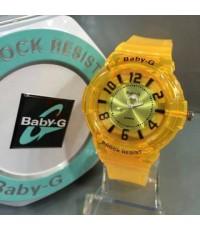 นาฬิกา Baby G ระบบอนาลอค สายใส