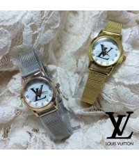นาฬิกาหลุยส์ Louis Vuitton สายถัก