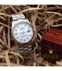 นาฬิกา Rolex สาย 3 ข้อ ขอบหยัก
