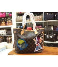 Louis Vuitton Monogram Canvas Cindy Sherman Neverfull MM M40285