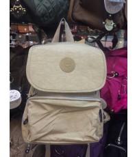 กระเป๋าเป้ KIPLING สีพื้นฝาปิด