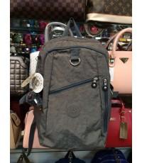 กระเป๋าเป้ KIPLING สีพื้นฝาปิด ซิปเฉียง