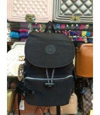 กระเป๋าเป้ KIPLING สีพื้นฝาปิด 12 นิ้ว กระเป๋าข้าง