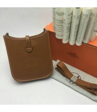 Hermes Mini Evelyn shoulder bag
