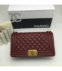 Chanel classic Bag 10 นิ้ว อะไหล่ทอง