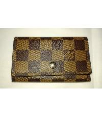 พวงกุญแจ Louis Vuitton Key Holder ลายสก็อต