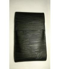ซองบุหรี่ Louis Vuitton หนังลายไม้ดำ