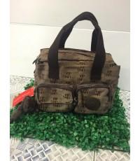 กระเป๋า Kipling รุ่น กระเป๋า3 ช่อง น้ำตาล