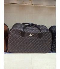 Chanel suitcase luggage rolling travel bag 22 นิ้ว