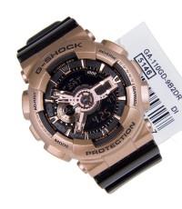 Casio G-Shock นาฬิกาข้อมือผู้ชาย สายเรซิ่น รุ่น GA-110GD-9B2AD