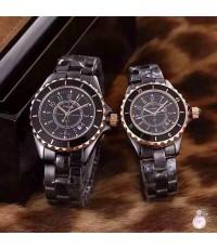 นาฬิกา Chanel J12 Ladies Watch ดำ