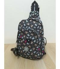 กระเป๋าเป้ KIPLING สีพื้น 12 นิ้ว คาดอก เป้ได้