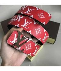 Louis Vuitton X supreme  initiales  belt