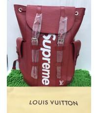 กระเป๋าเป้ Louis Vuitton x Supreme  CHRISTOPHER